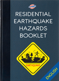 Residential Eartquake Hazards Booklet (English)