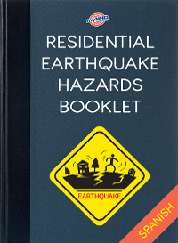 Residential Eartquake Hazards Booklet (Spanish)